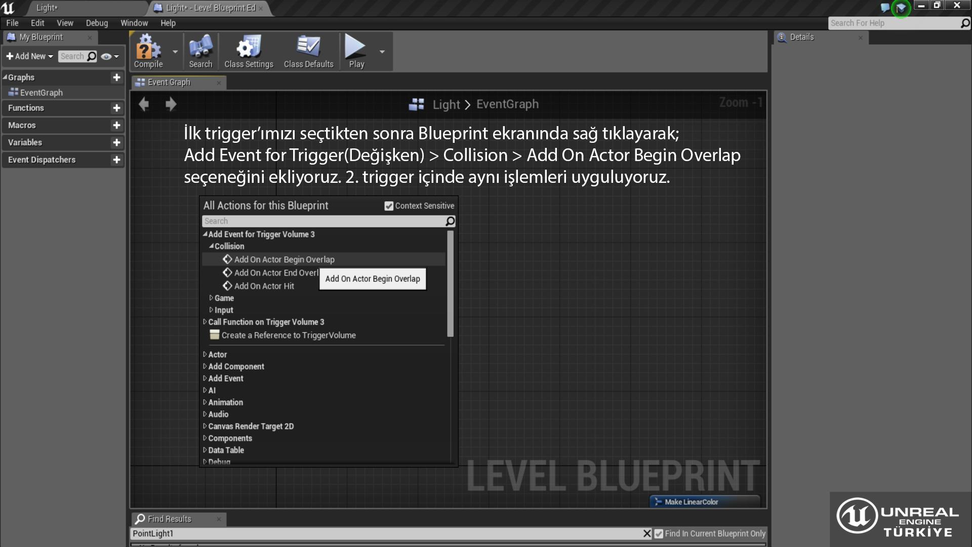 Unreal Engine Türkiye | Topluluk - Unreal Engine 4 Dersleri
